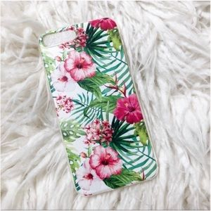 Tropical Flower Phone Case for iPhone 8+, 7+, & 6